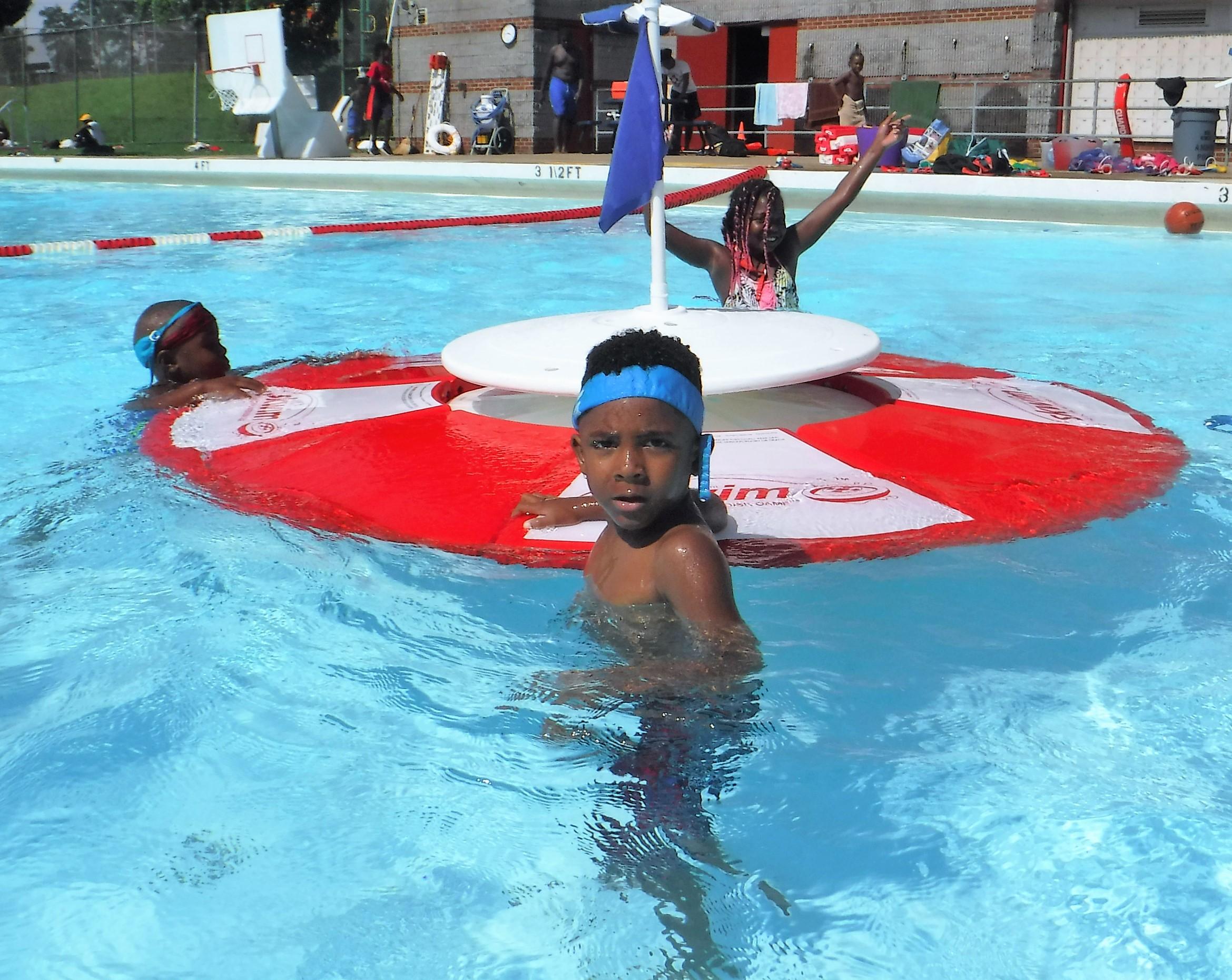Ammon Swimming Pool: Scoring Goals